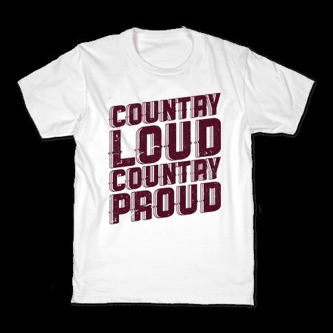 Country Loud Kids T-Shirt