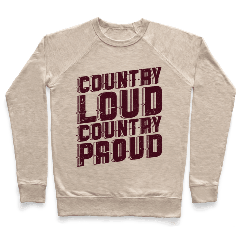 Country Loud Pullover