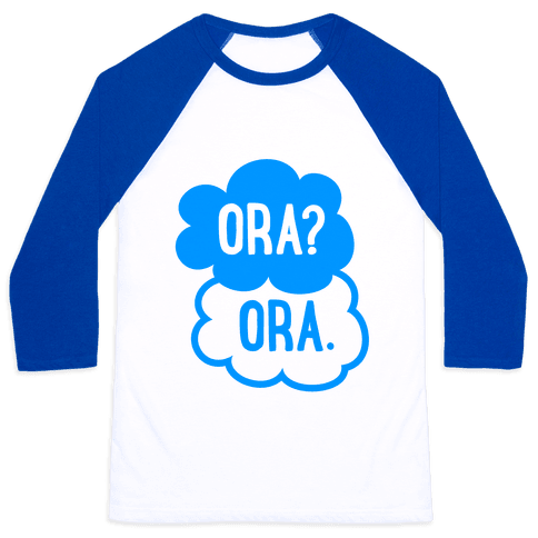 The Fault In Our Joestars Baseball Tee