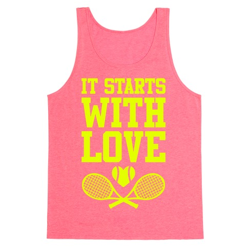It Starts With Love Tank Top