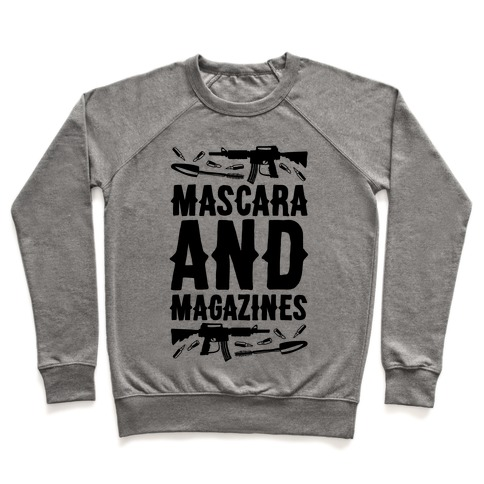 Mascara and Magazines Pullover