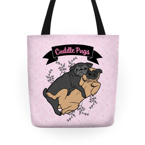 Cuddle Pugs Tote