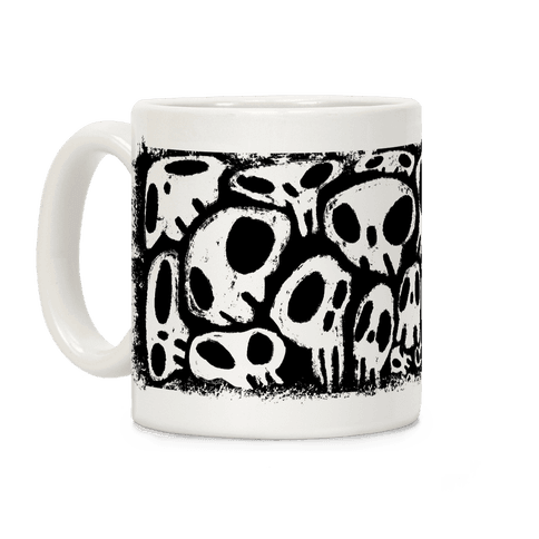 Soft Skulls Coffee Mug