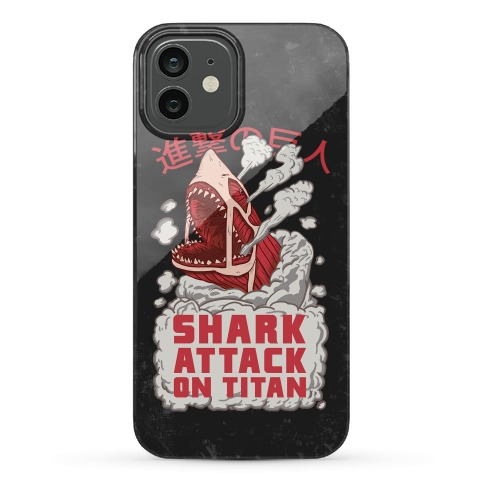 Shark Attack On Titan Phone Case