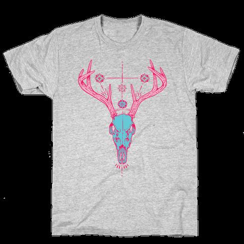 Mystic Skull Mens T-Shirt