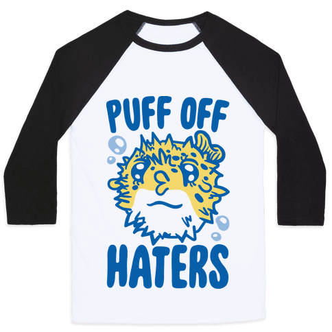 Puff Off Haters Baseball Tee
