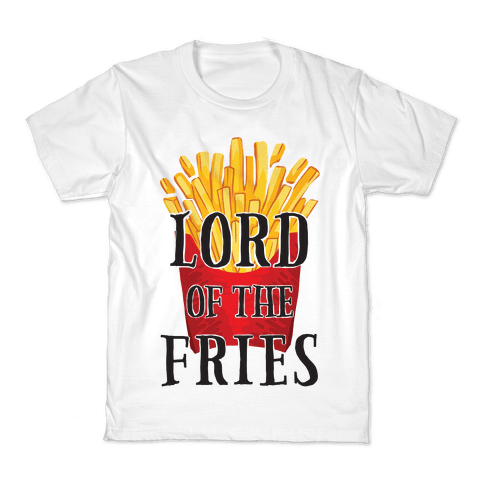 Lord of the Fries Kids T-Shirt