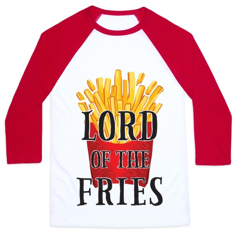 Lord of the Fries Baseball Tee