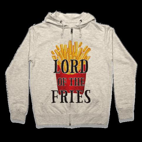 Lord of the Fries Zip Hoodie