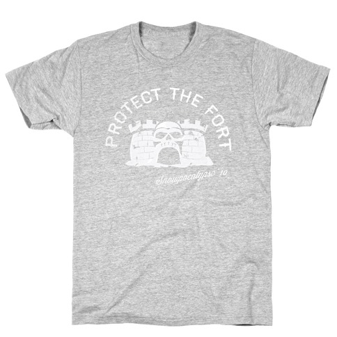Protect the Fort, Snowpocalypse Winter Games T-Shirt