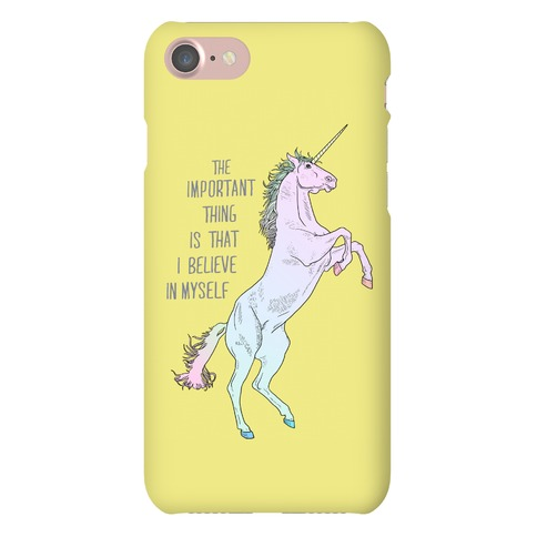 I Believe In Myself Phone Case
