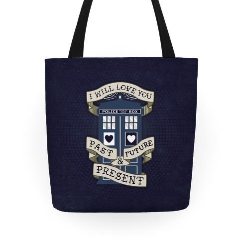 Doctor Who Tardis Tote Tote