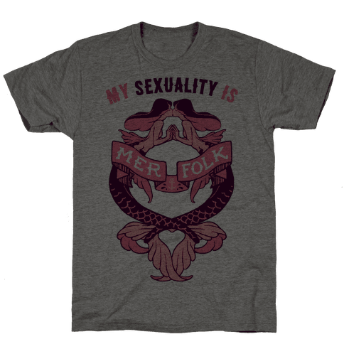 My Sexuality Is Mermaids Mens T-Shirt