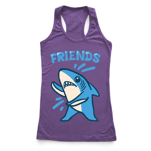 Best Friend Sharks (Part 2) Racerback Tank Top
