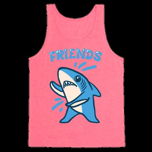 Best Friend Sharks (Part 2) Tank Top