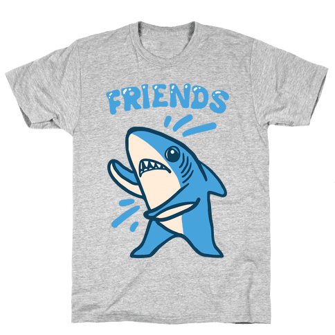 Best Friend Sharks (Part 2) Mens T-Shirt