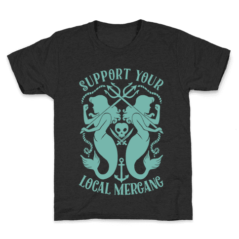 Support Your Local Mergang Kids T-Shirt
