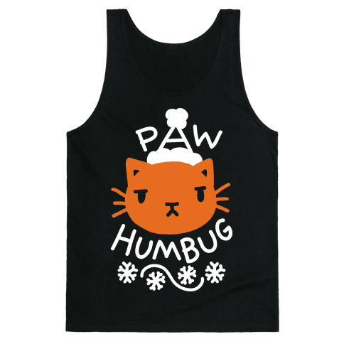 Paw Humbug Cat Tank Top