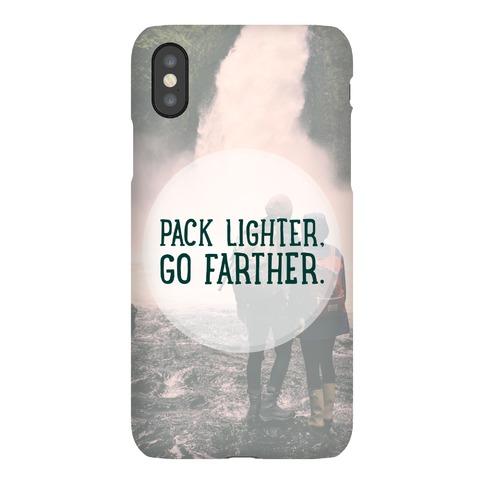 Pack Lighter, Go Farther Phone Case