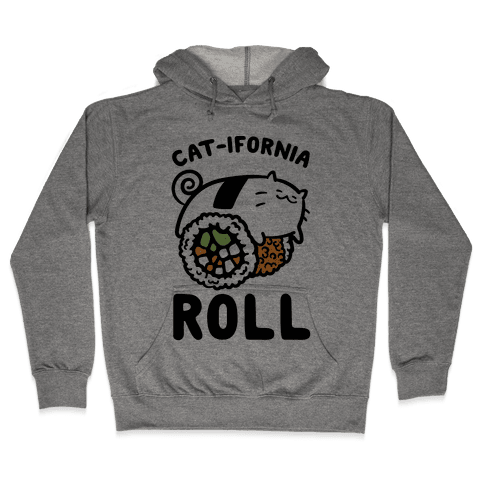 California Cat Roll Hooded Sweatshirt
