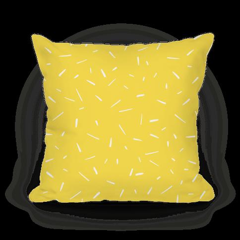 Yellow Confetti Pattern