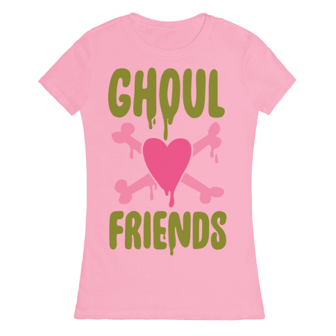 Ghoul Friends Womens T-Shirt