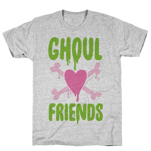 Ghoul Friends Mens T-Shirt