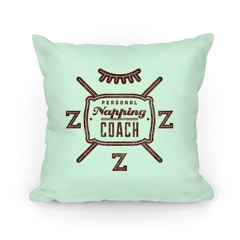Personal Napping Coach Pillow