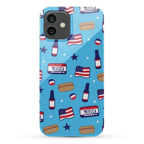 Americana Pattern Phone Case