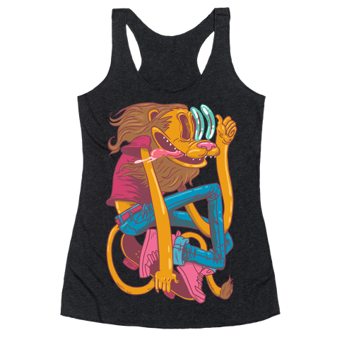 Rad Lion Racerback Tank Top