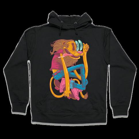 Rad Lion Hooded Sweatshirt
