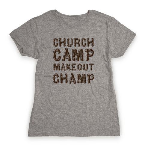 Church Camp Memories Womens T-Shirt