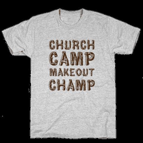 Church Camp Memories Mens T-Shirt