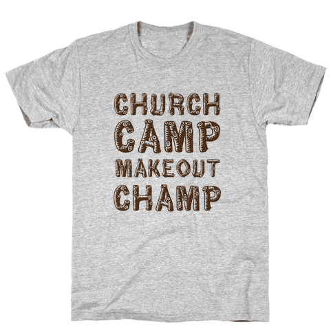 Church Camp Memories Mens T-Shirt