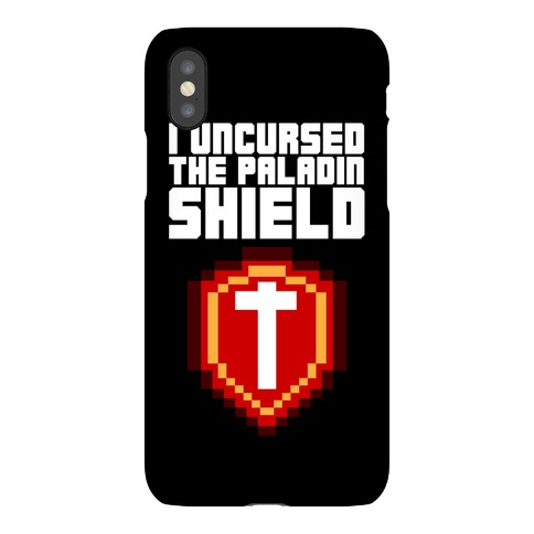 I Uncursed the Paladin Shield Phone Case