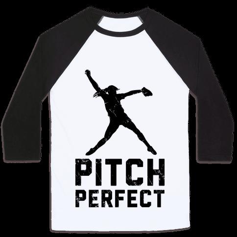 Softball Pitch Perfect (Baseball Tee)