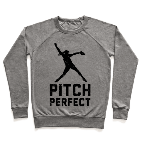Softball Pitch Perfect (Baseball Tee) Pullover