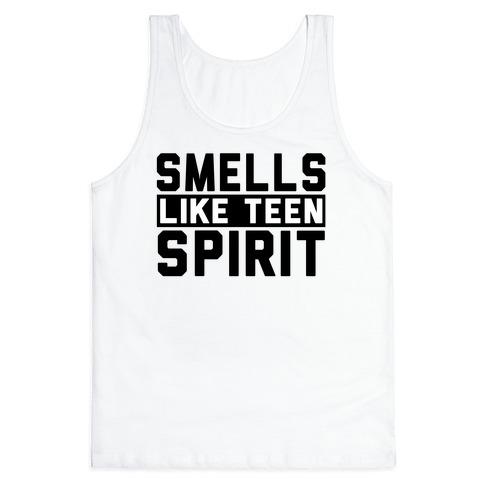 Smells Like Teen Spirit Tank Top | LookHUMAN