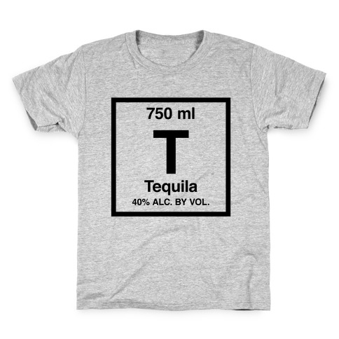 Tequila Element (Periodic Alcohol) Kids T-Shirt