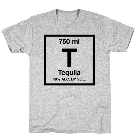 Tequila Element (Periodic Alcohol) T-Shirt