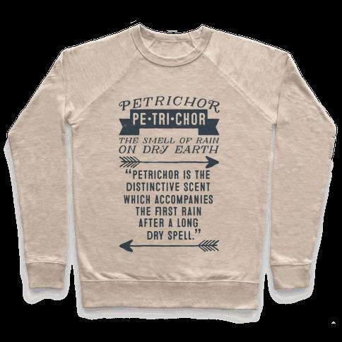 Petrichor Definition Pullover