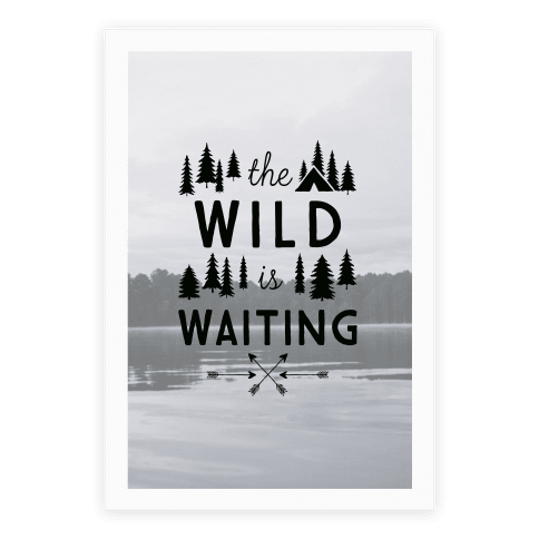 The Wild Is Waiting Poster
