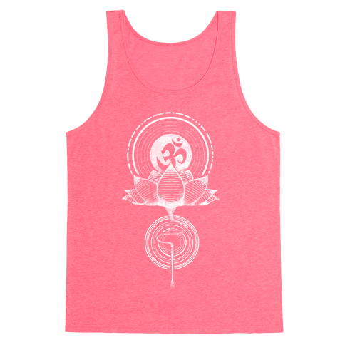 Aum and Lotus Tank Top