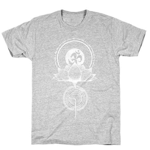 Aum and Lotus T-Shirt