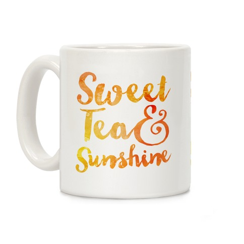 Sweet Tea & Sunshine Coffee Mug