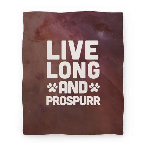 Live Long And Prospurr Blanket