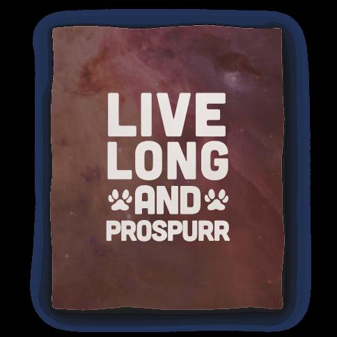 Live Long And Prospurr Blanket
