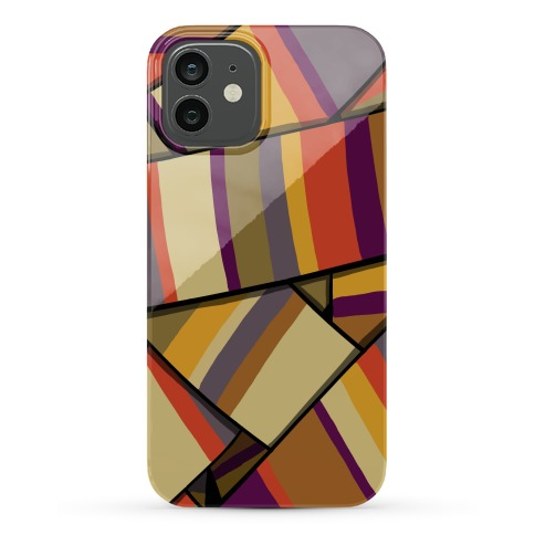 Doctor Who Scarf Pattern Phone Case