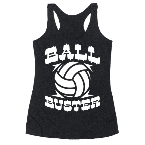 Ball Buster (Volleyball) Racerback Tank Top