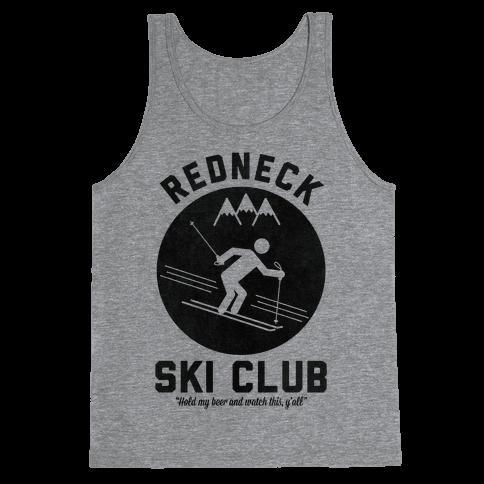 Redneck Ski Club Tank Top